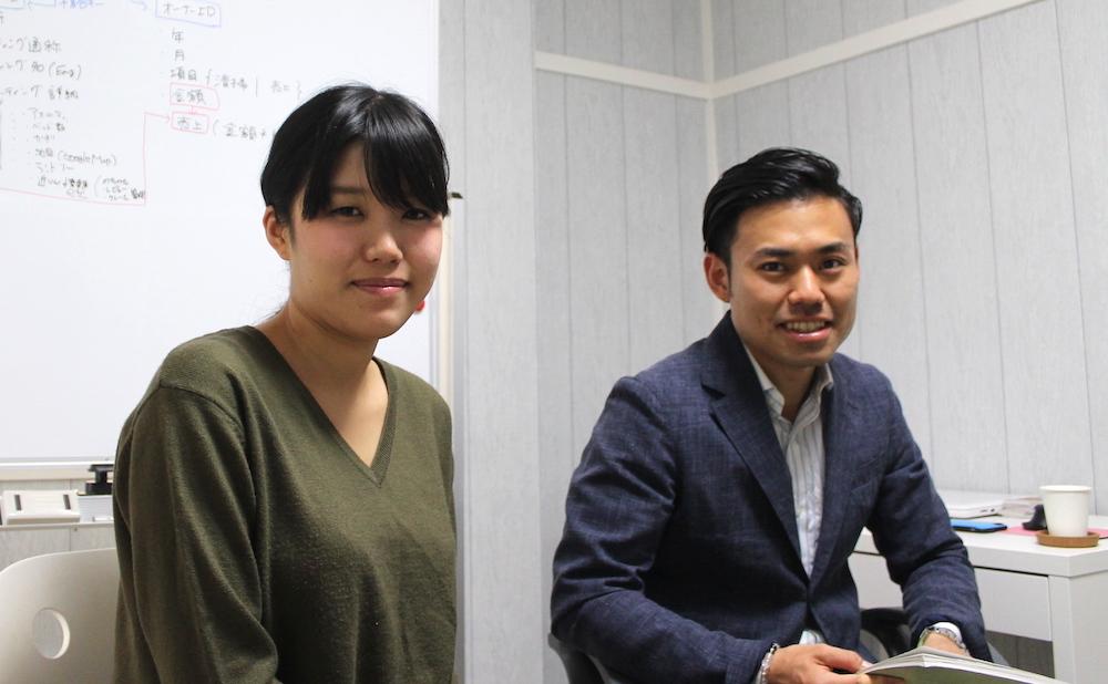 株式会社グレートステイの大崎代表と樋口さん