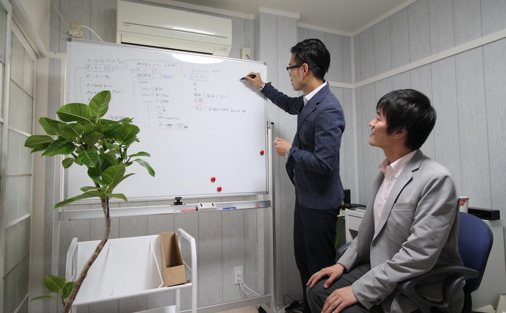 今後の事業展開とIT活用を考える大崎さん