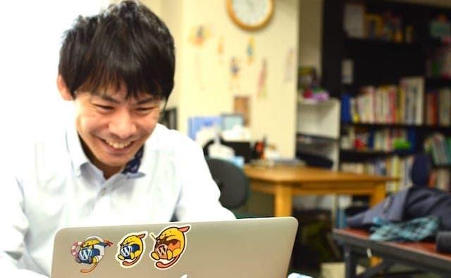 Webスクール Webを学習する男性