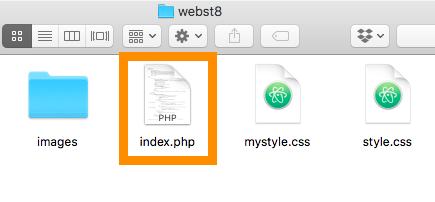 ワードプレスのテーマ「webst8」のindex.htmlをindex.phpに変更する