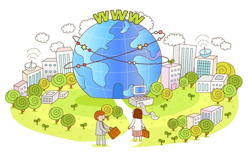 インターネット Webの世界
