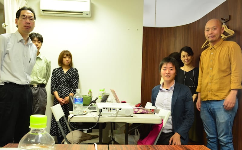 2018年6月3日 1日速習HTMLCSS入門セミナー 集合写真@大阪南堀江