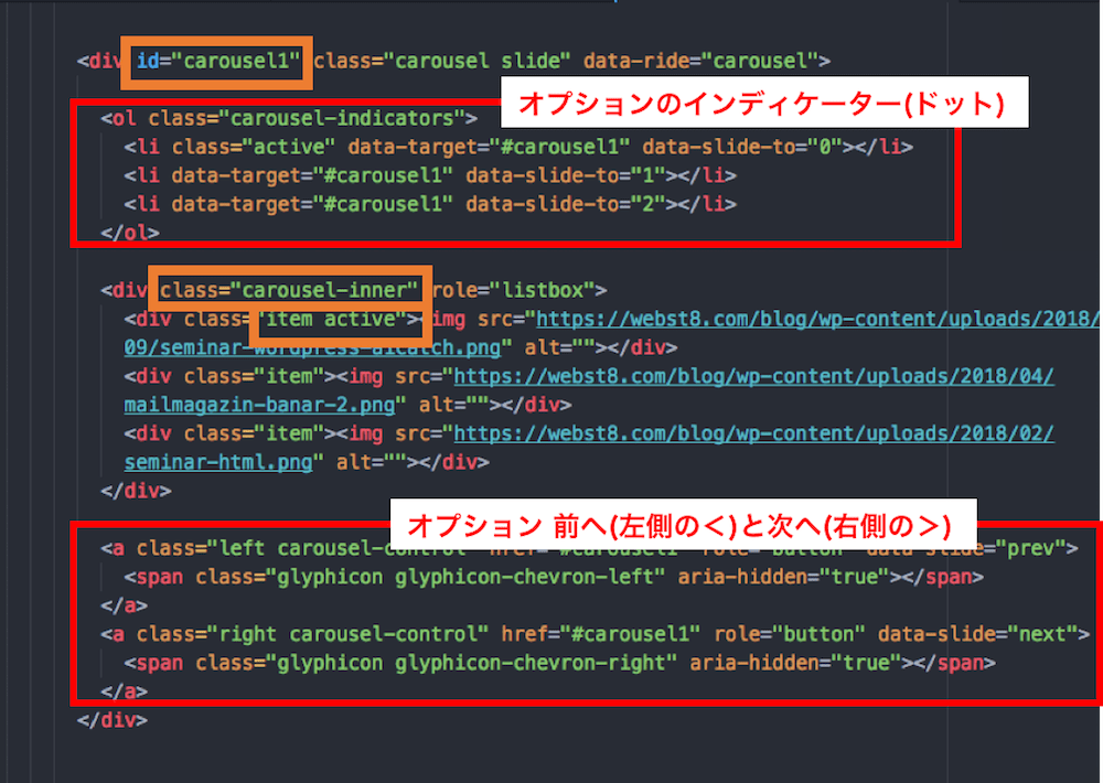 BootStrap carouselの解説