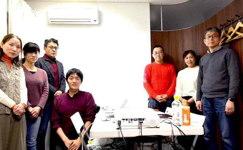 2019年2月24日(日)ワードプレスセミナー 講座中の写真