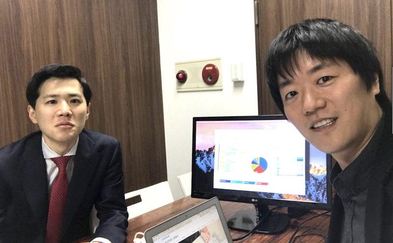 弊社が顧問契約した蟹山税理士先生と松本