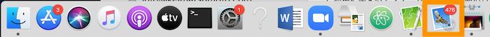 mac メールアプリ