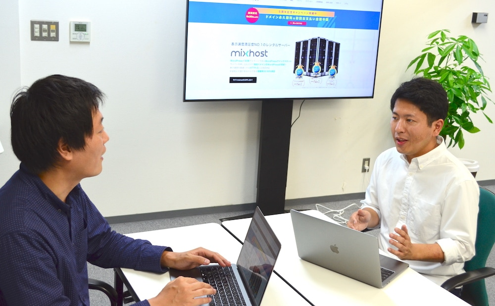 mixhost伊丹社長とWEBST8松本