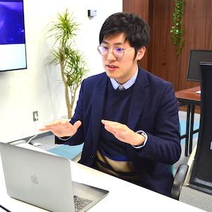 株式会社シナジーキャリア 代表取締役社長 岡本恵典さん