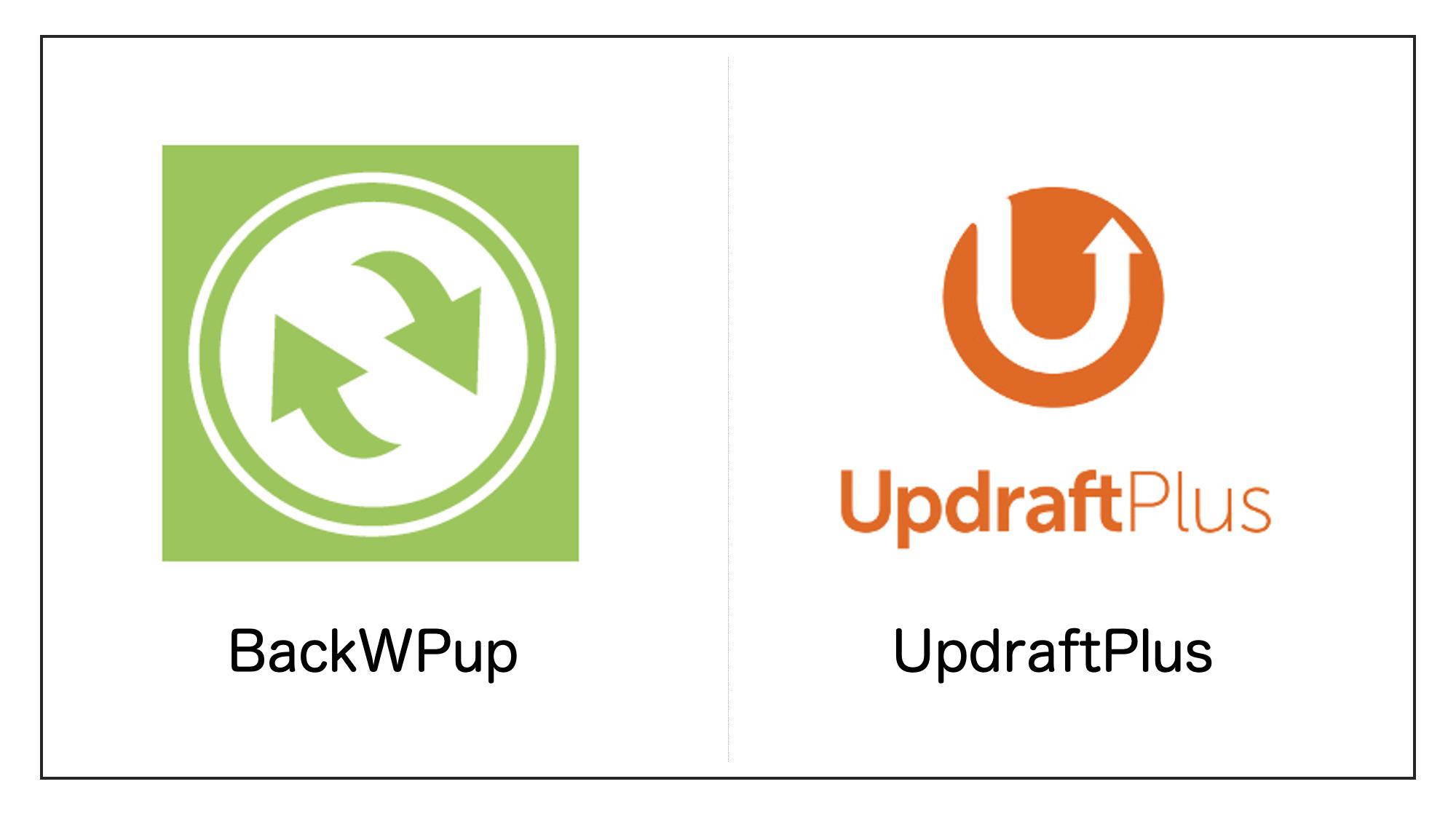 BackWPupとUpdraftPlus