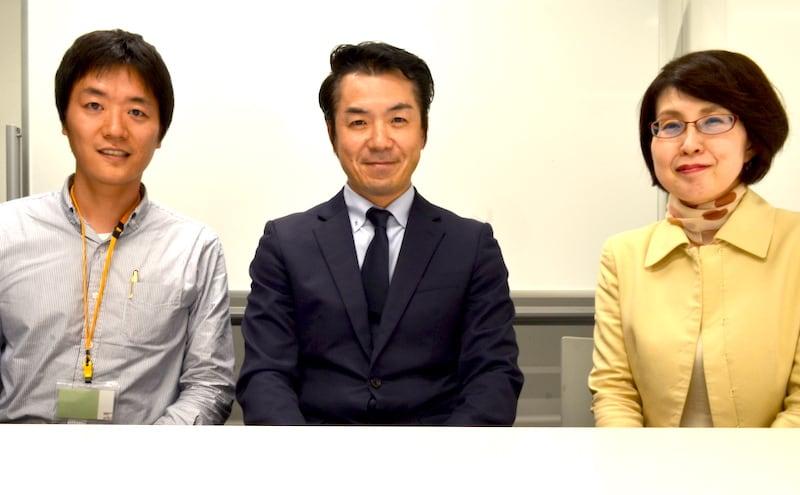 倉田敦夫さん・コピーライター河本さん・Webスクール運営の松本