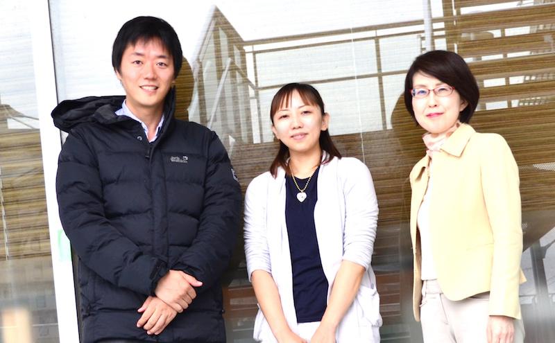 佐藤さんとライターの河本さんとスクール運営の松本