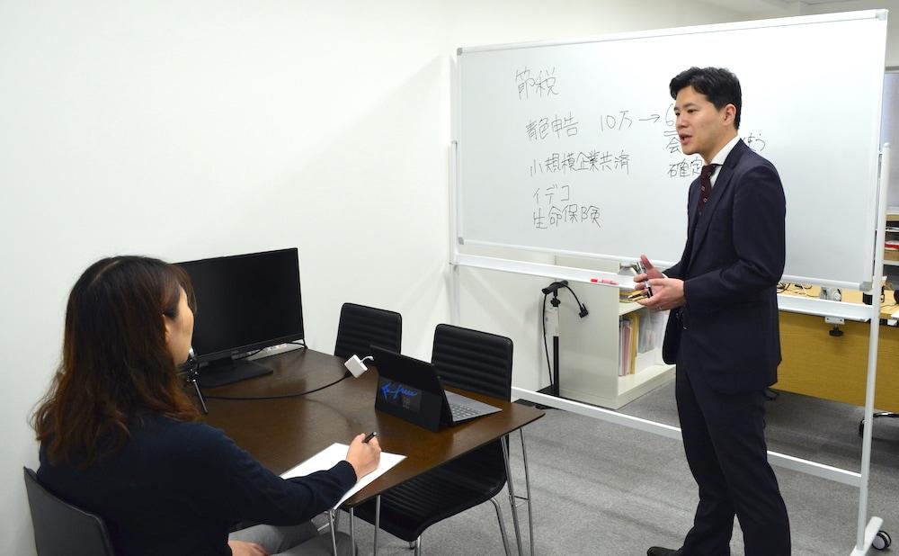 蟹山先生と角正さん