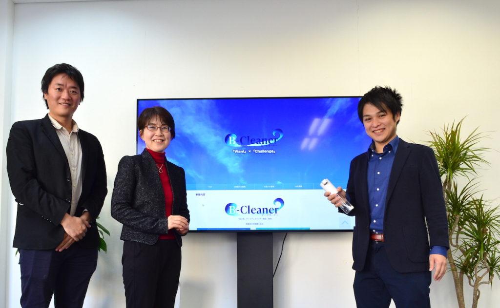 株式会社Wallenge内藤さんとライターの河本さん・WEBST8松本