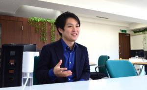 株式会社Wallenge代表取締役の内藤吏輝さん